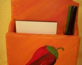 Peppers Notepad Holder