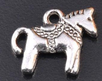 Mini Dala Horse Charm Lot of 30 - Wholesale