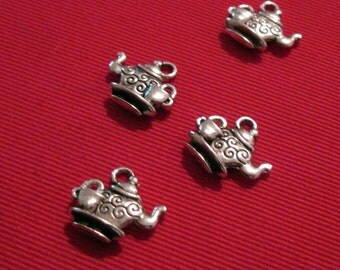 Teapot and Cup Charms lot of  21 - Wholesale Lot