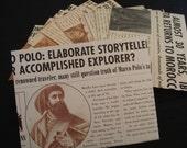 The Explorer's Gazette envelopes