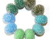 Ocean Sugar Bead Mix Pairs - Glass Lampwork