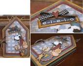 e-i-e-i-o Envelope Scrapbook Album