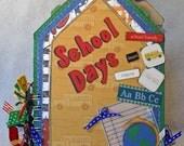School Days Envelope Album RESERVED for 1bargainhunta