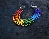 Rainbow King's Maille Bracelet