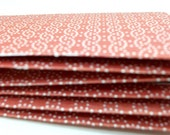 Red Silver and White Gift Card and Receipt Mini Envelopes
