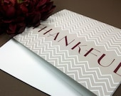 Thankful Note Cards (set of 8)
