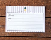Southern Pineapple Recipe Cards