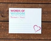 Words of Wisdom Cards (set of 25)