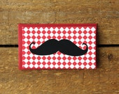 Italian Mustache Man Mini Note Cards (set of 10)