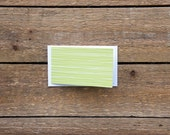 SALE Lime Green Gift Cards  or Tags