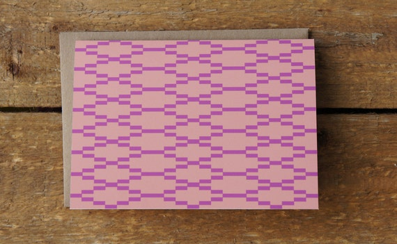 Terracotta Patterned Note Cards (set of 10)