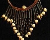 Etelvina's elegant choker necklace