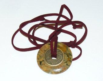 Mystic Necklace- Rhyolite -Earth Stone