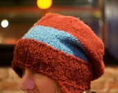 PDF - Knitting PATTERN - The Bag Hat Emily