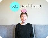 PDF Crochet Pattern How to Crochet a Brain