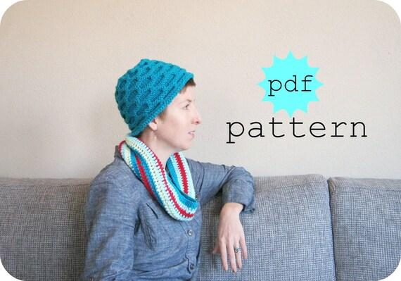 PDF Knitting Pattern Nimbus Hat