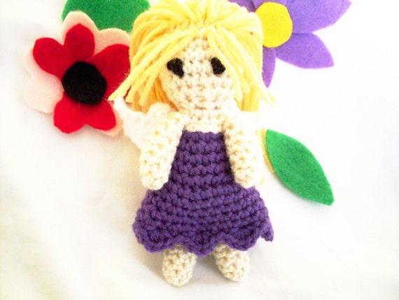 PDF - Little Fairy crochet