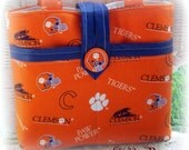 Clemson University Tigers Purse, Tote, Bag by Shabby Bags
