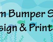 "Custom Bumper Sticker--11"" x 3"""