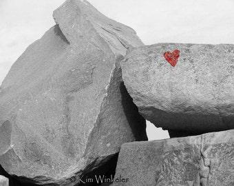 Love on the Rocks Fine Art Photograph 8x10