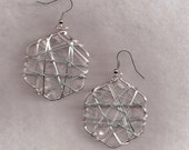Silver 6 Sided Wired
