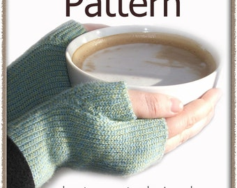 Knit-Look Fingerless Mitts - Crochet Pattern (PDF) - INSTANT DOWNLOAD