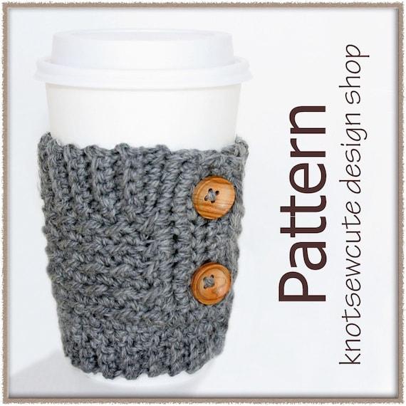 Coffee Cardigan - Crochet Pattern (PDF) - INSTANT DOWNLOAD
