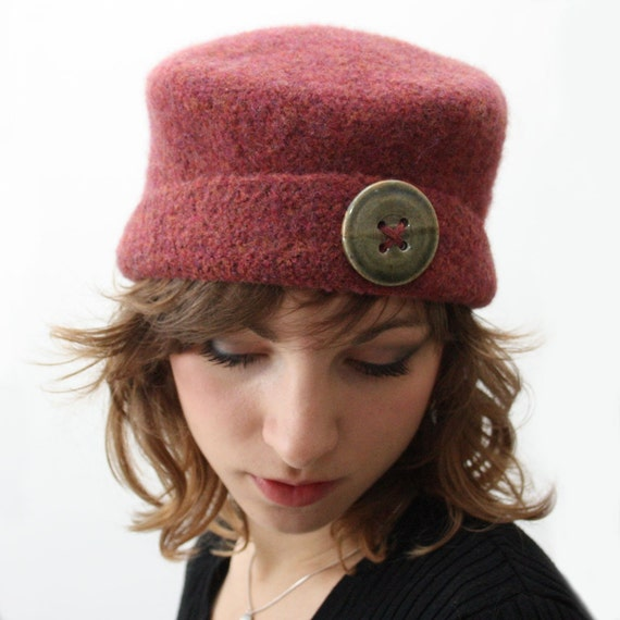 Crochet Pattern It S Hip To Be A Square Felted Hat