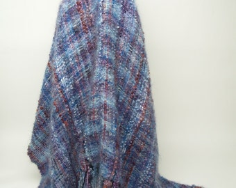Handwoven Shawl, Cape, Poncho, I call it a Ponchshawl