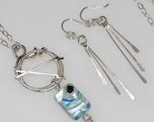 RESERVED DIANE PATRY - Seaspray earrings