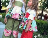 Pink Fig, The Sweetheart Pants Sewing Pattern, FREE SHIPPING