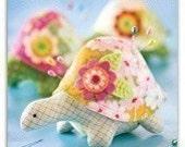 Heather Bailey Henrietta Turtle Pincushion/Toy Sewing Pattern, FREE SHIPPING
