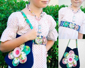 Pink Fig Accessories Sewing Pattern--FREE SHIPPING