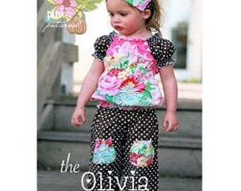 Pink Fig The Olivia Top No.3  Sewing Pattern--FREE SHIPPING