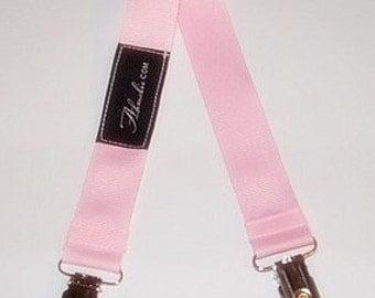 Pink Baby Bib Stroller Nursing Clip
