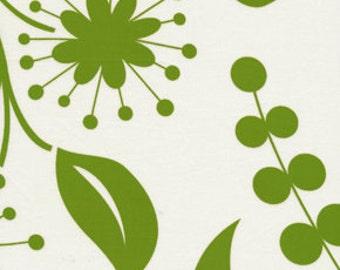 Kumari Garden Kamal Green Fabric, 1 yard