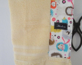 Michael Miller Hedgehog Baby/Toddler/ Child Hooded Bath Beach Pool Towel
