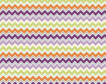 Dress Up Days Chevron Grape Fabric, 1 yard