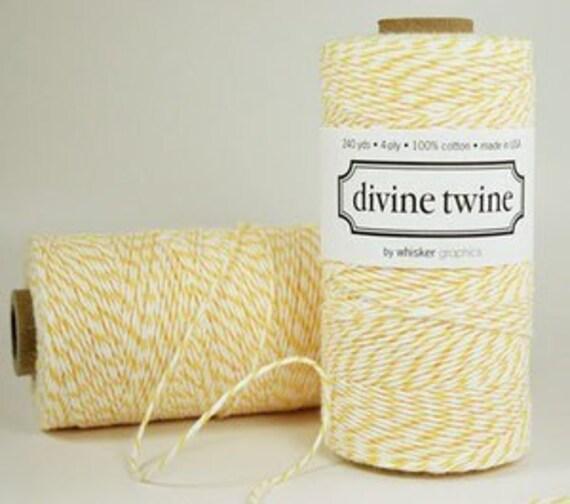 Divine Twine Lemon