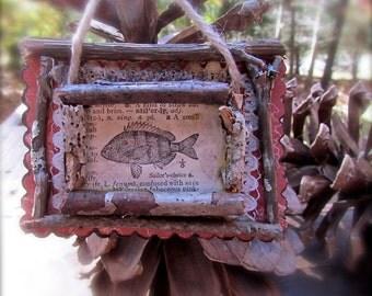 Adorable Rustic Fish(Sailor's Choice) Ornament