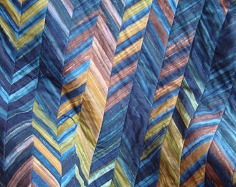 Batik Illusion lapquilt - CLEARANCE