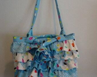 Ruffled Bag - CLEARANCE