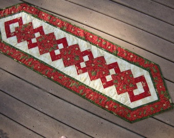 Holiday Flourish tablerunner- CLEARANCE