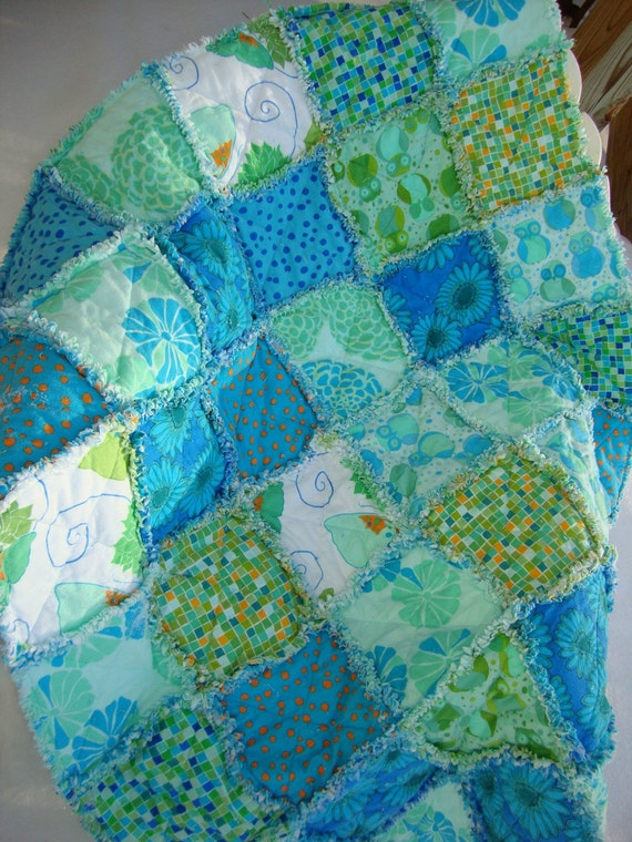 Valori Wells Raggy Flannel Quilt - reduced