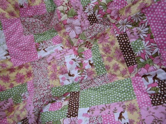 spring escapade quilt - reduced