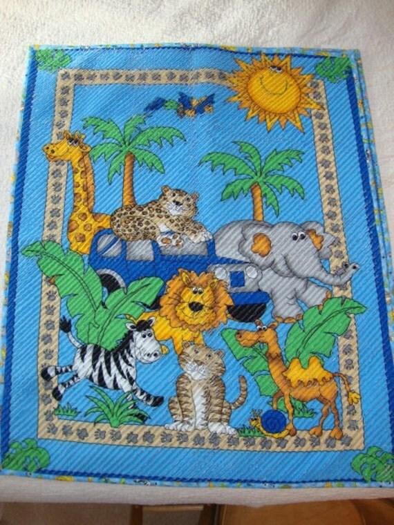 zoo quilt - sale