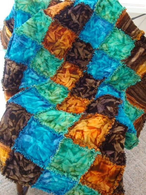 raggy flannel quilt - reduced