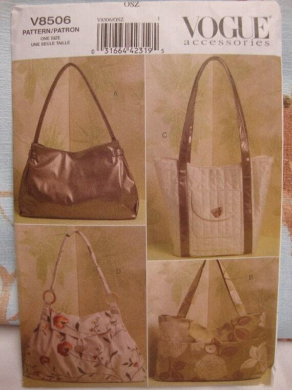 Vogue purse pattern