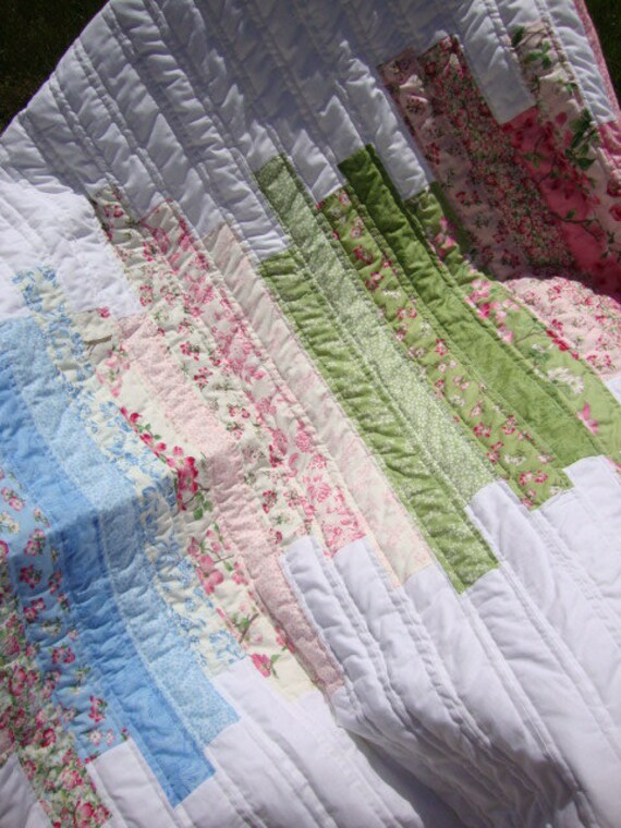 Dogwood Trail crib quilt -  reduced