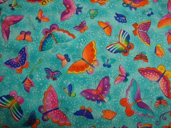 Laurel Burch Flying colors   ll CLEARANCE @ 5.49 A YARD
